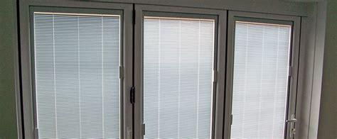 blinds for upvc doors slim upvc bi fold doors folding doors 2 u