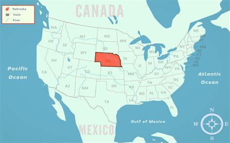 usa map nebraska 31 luxury united states map nebraska bnhspine