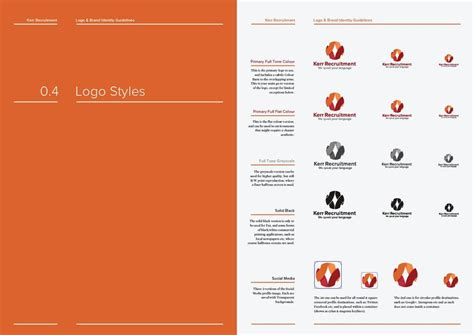 14 Page Logo And Brand Identity Guidelines Template For Download Brand Identity Guidelines Template