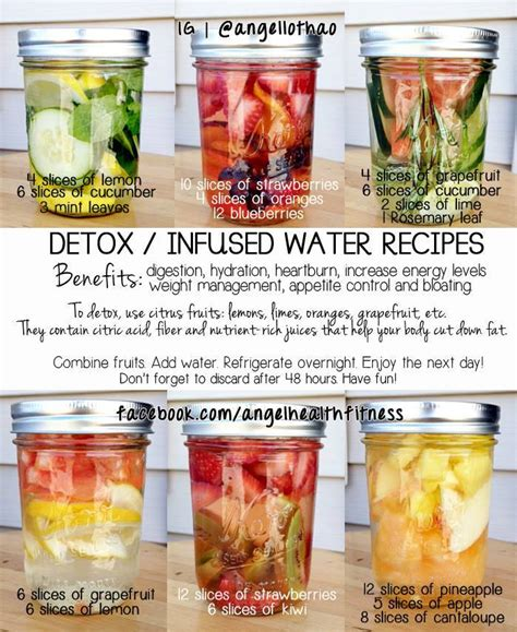 All Recipes Detox Water by Detox Infused Water Recipes Favorite Recipes