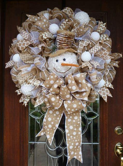 decorative ideas for best 25 winter wreaths ideas on