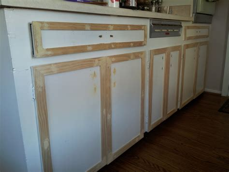 applying wood trim to old kitchen cabinet doors kitchen cabinets makeover brooklyn house elizabeth