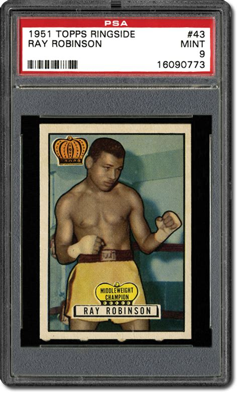 Ip29915 Set Vintage Mint Ry psa set registry the 1951 topps ringside boxing card set