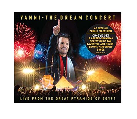 yanni the concert live from the great pyramids of cd dvd album zortam