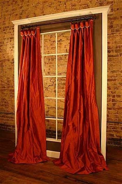 sewing drapery panels cuff top panels curtain sewing pattern
