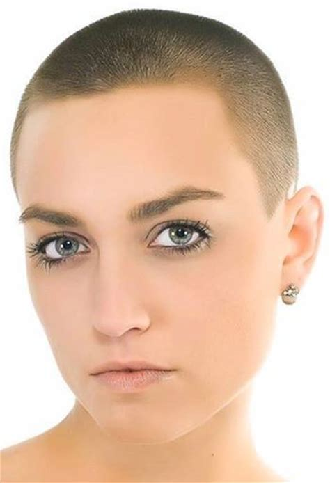 short clippered shaircuts for ladies beautiful girls with shaved head