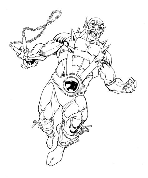 Robert Atkins Art July 2011 Thundercats Coloring Pages