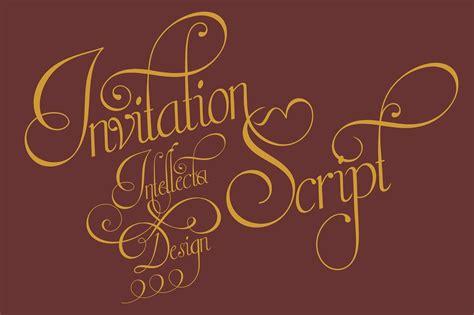 invitation script invitation script script fonts creative market