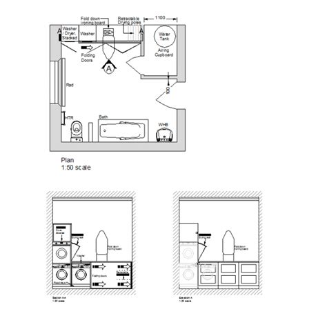 laundry room layout templates roof layout drawing sketch coloring page