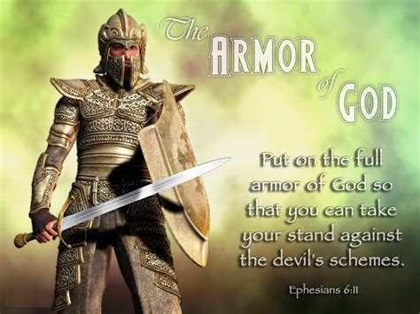 armoir of god apostolic revelation armor of god