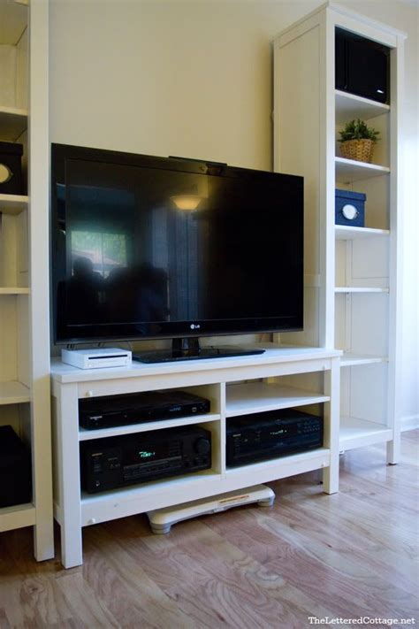 ikea tv stand hack diy tv stand hemnes ikea for the home pinterest