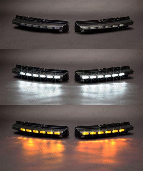 drive bright ford taurus led drl kit standard black  built  led turn signal sale
