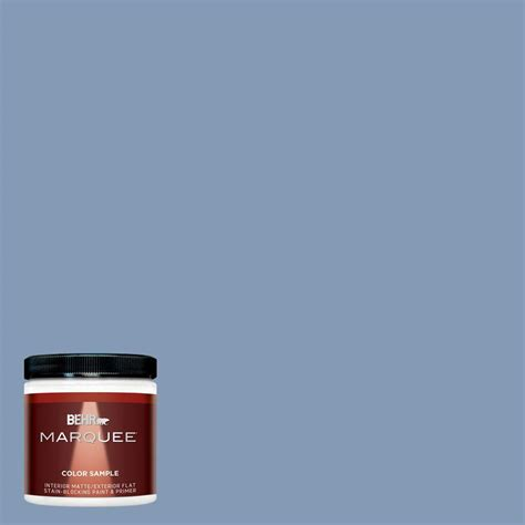 behr marquee 8 oz mq5 51 mystery interior exterior paint sle mq30416 the home depot