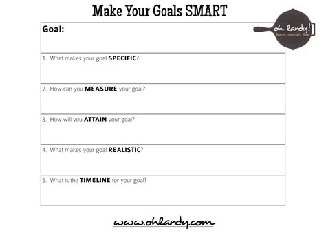 Smart Goal Setting Worksheet by 9 Best Images Of Goal Setting Printable Worksheet