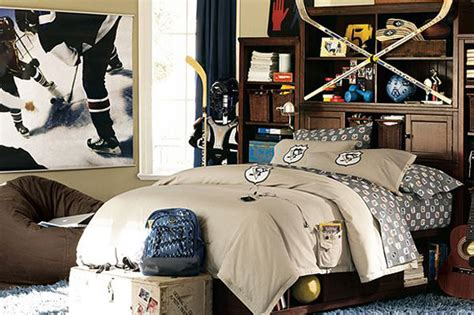 hockey bedroom ideas how to decorate a sports themed room