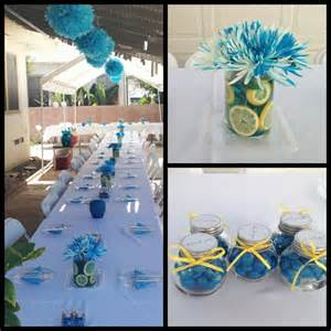 outdoor baby shower decorations outdoor baby shower decorations caribbean blue colors
