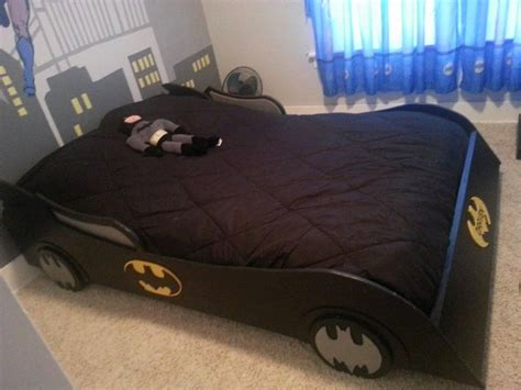 batman toddler bed frame this batman furniture turns any room into the batcave
