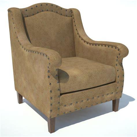 traditional armchair traditional armchair 03 3d model formfonts 3d models