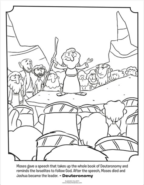 free bible coloring pages moses moses giving a speech bible coloring pages what s in