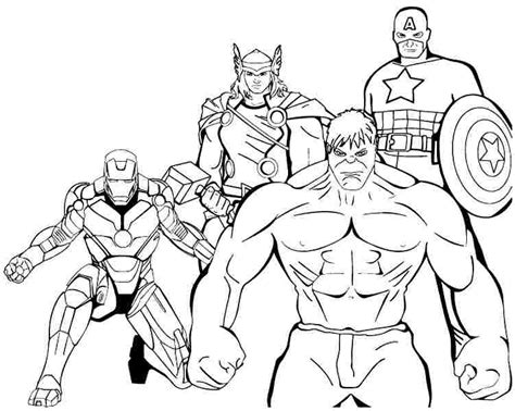 free printable marvel superhero coloring pages captain