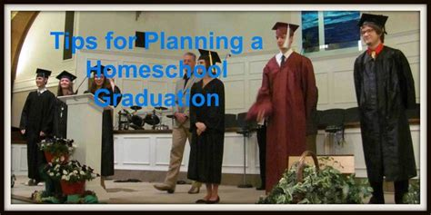 tips for planning a homeschool graduation home