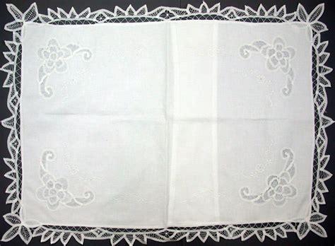 Battenburg Lace Pillow Shams by Elite Battenburg Pillow Shams The Lace And Linens Co