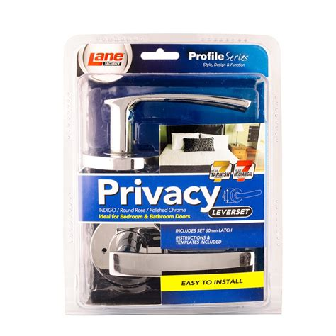 bunnings security security 65mm polished chrome