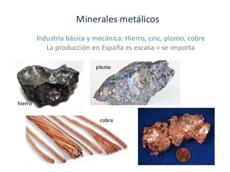 imagenes de minerales naturales el espacio industrial el sector secundario parte1