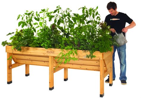 Raised Wooden Planters by Vegtrug Wooden Raised Planters 187 Raised Planters