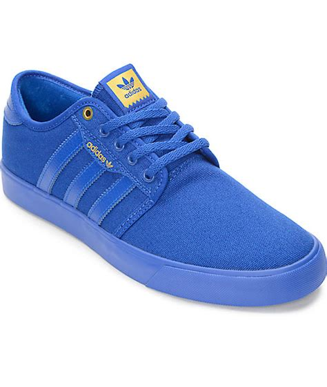 blue and sneakers adidas seeley mono royal blue shoes at zumiez pdp