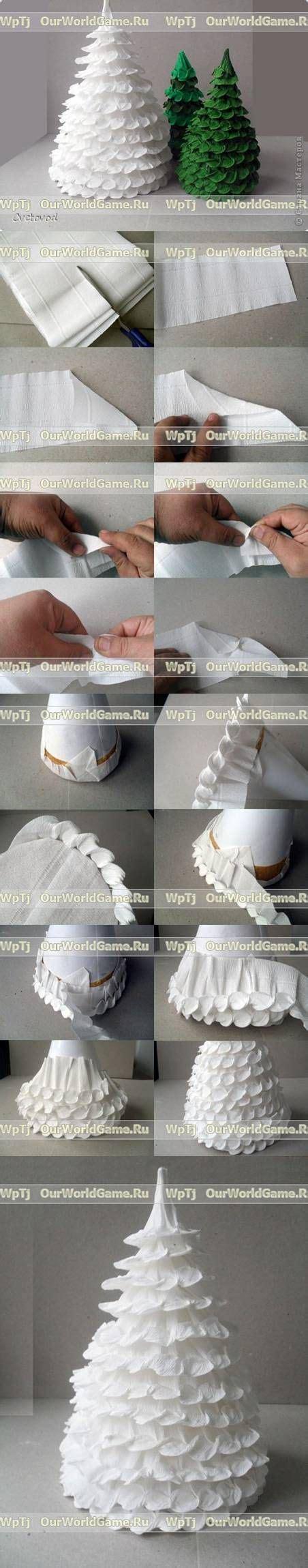 corrugated paper craft своими руками navidad and trees