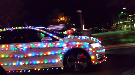 christmas lights on a car youtube