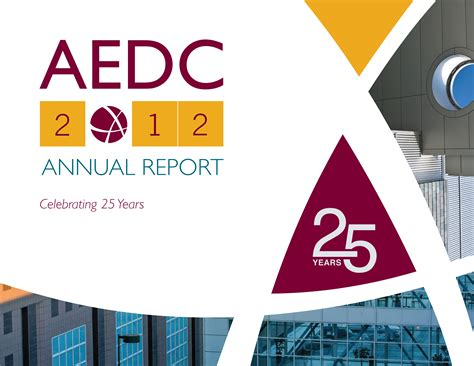 2012 Annual Report by Aedc Annual Report 2012 Aedc