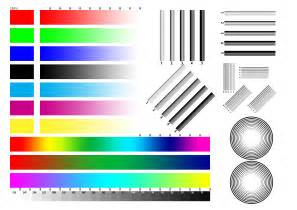 printer color index of test
