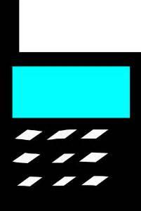 b med mobile mobile phone clip at clker vector clip
