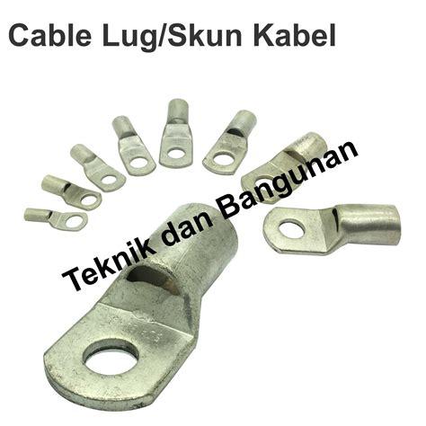 Skun Kabel Sc 4 5 jual cable lug skun kabel sc 70mm 10 teknik dan bangunan