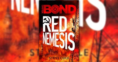 red nemesis cover artwork revealed the james bond dossier