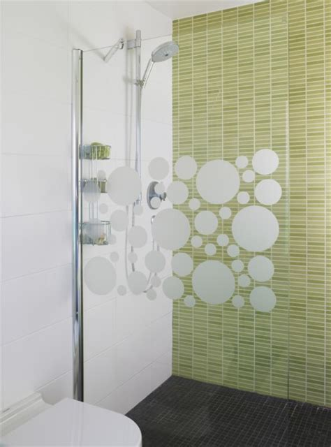 bathroom glass stickers bubble glass stickers patio doors shower screens