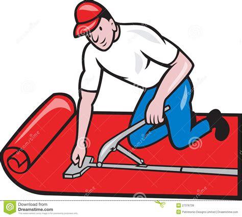 Floor Plan Builder Free carpet layer fitter worker cartoon royalty free stock