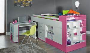 lit enfant combin 233 avec bureau pas cher vera mobilier