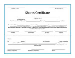 free company certificate template 40 free stock certificate templates word pdf