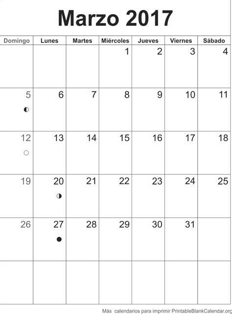 printable calendar agenda 2017 agenda marzo 2017 calendarios para imprimir