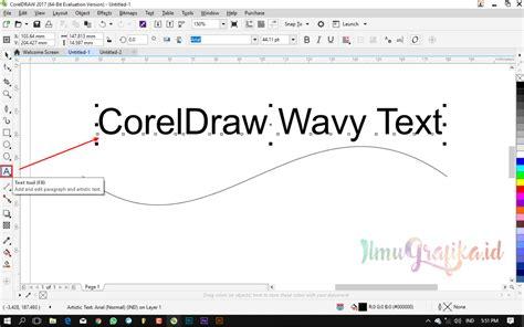 tutorial line art dengan coreldraw tutorial coreldraw dasar membuat teks melengkung dengan