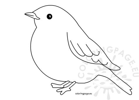 bird silhouette simple coloring pages