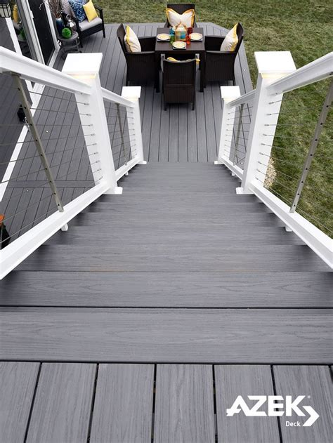 deck color image result for grey deck with cable railing deck