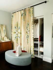 Replace Sliding Closet Doors With Curtains Diy Closet Door Ideas Twobertis