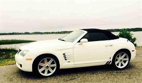 chrysler crossfire  roadster ready  summer top  car  sale