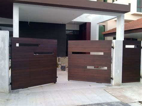contemporary gate designs for homes modern wooden gate designs for homes fachadas e port 245 es