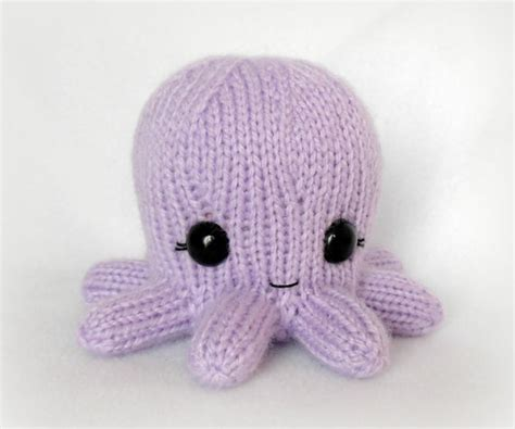 knitting pattern octopus toy baby octopus knit toy knitting and other yarn stuff