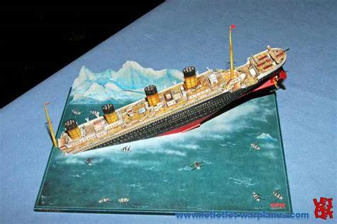Titanic Sinking Model by Nieuwegein 2010 Let Let Let Warplanes